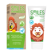 Load image into Gallery viewer, Smiles - Organic & Natural Tooth Gel 50mL (4563303858210)