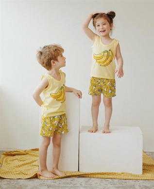 Oh, Holiday! PH - Unisex Banana Pajama Set by PUCCO (4616293711906)
