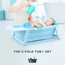 Load image into Gallery viewer, The Baby Tub - 3-Fold Tub Set (4623653011490)