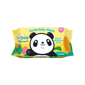 Tiny Buds - Natural Baby Wipes (65 pulls) (4513996570658)