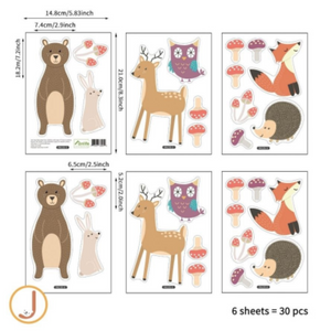 Juju Nursery - Wall Decals/Stickers (4797204594722)