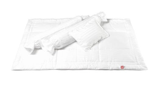 Zyji - Luxury White 7pc Baby Bedding Set (4798829723682)
