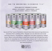 Load image into Gallery viewer, The Conscious Mama - Secrets of Tea No To Morning Sickness (4851964510242)