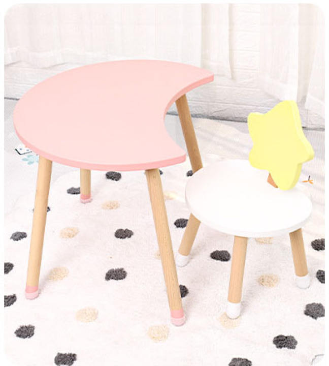 Juju Nursery - Moon and Star Table and Chair Set (4797203972130)