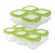 Load image into Gallery viewer, OXO Tot - Baby Blocks Freezer Storage Containers Promo Pack (4509011509282)