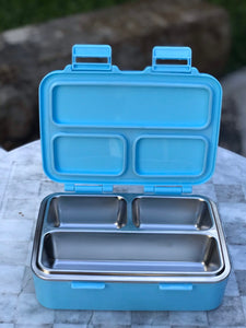 LunchBreak Keeps - Keeps Stainless Steel Trio Compartment Lunch Box (4530192973858)