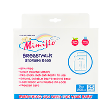 Load image into Gallery viewer, Mimiflo® - Breastmilk Storage Bags 25pcs (4550120210466)