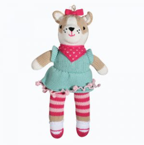 Zubels - Carly the Chihuahua Handknit Cotton Doll (4546811232290)