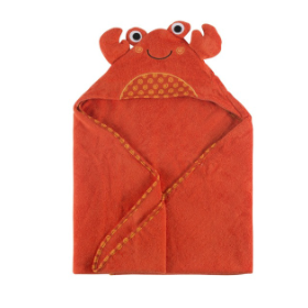Zoocchini - Charlie the Crab Baby Hooded Towel (4545285193762)