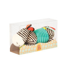 Load image into Gallery viewer, B. Toys - Squeezy Zeeby Soft Accordion Zebra (4539068710946)