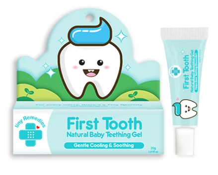 Tiny Buds - First Tooth Teething Gel (4513975173154)