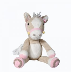 Zubels - Josie the Pony Handknit Cotton Doll (4546826764322)