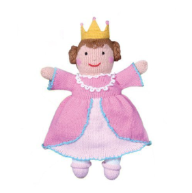 Zubels - Milly the Princess Handknit Cotton Doll (4546831646754)