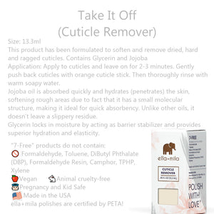 Clean Beauty Society - Ella+Mila Take It Off (Cuticle Remover) (4532366245922)