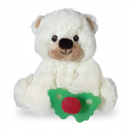 Load image into Gallery viewer, RaZ Buddy - Plush RaZ-Berry Red Teether Holder (4507315961890)