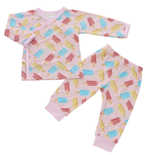 Load image into Gallery viewer, Bamberry - Long Sleeves Bamboo Pajama Set (4562077384738)