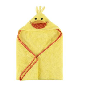 Zoocchini - Puddles the Duck Baby Hooded Towel (4545292075042)