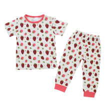 Load image into Gallery viewer, Bamberry - Short Sleeves Bamboo Pajama Set (4560855597090)