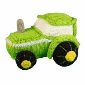 Zubels - Tobey the Tractor Handknit Cotton Doll (4546839248930)