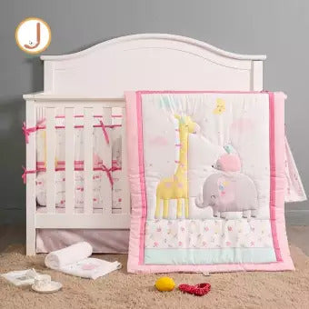 Juju Nursery - 7 Piece Crib Bedding Set (4797201317922)