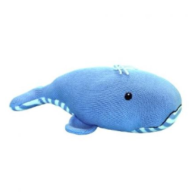 Zubels - Wally the Whale Handknit Cotton Doll (4546838298658)