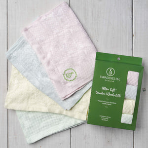 Swaddies PH - Ultra Soft Bamboo Washcloth (6553514573858)