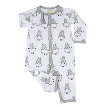 Load image into Gallery viewer, Baa Baa Sheepz - Button Long Sleeve Romper (4544377815074)