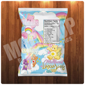 Big Bear Care Bear Chip Bag Template