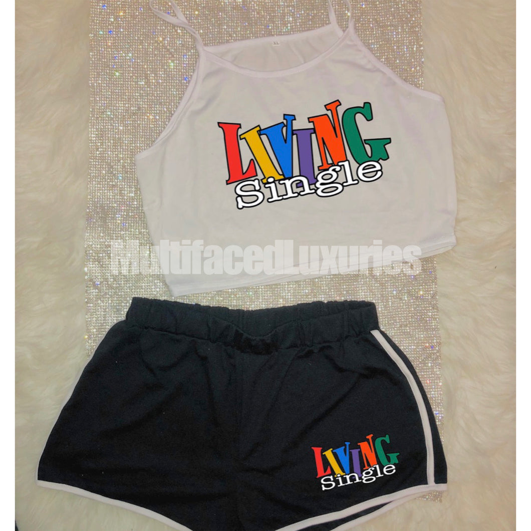 Living Single Cropped Set