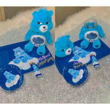 Load image into Gallery viewer, Care Bears Rolling tray/Stash Jar set