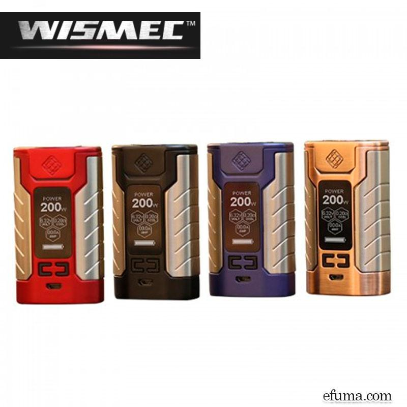 4600mAh SINUOUS FJ200 TC Box MOD