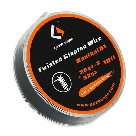 Twisted Clapton Kanthal  Wire (26GAx2 + 32GA)