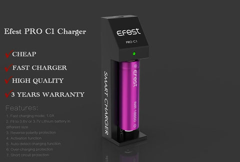 Efest Pro C1 Fast Charger
