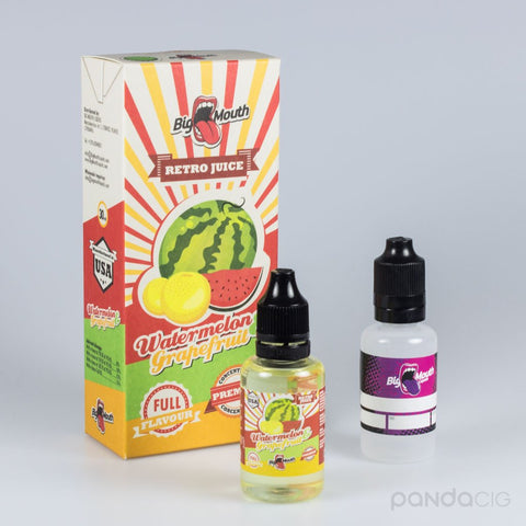Retro Juice - vandmelon og grapefrugt