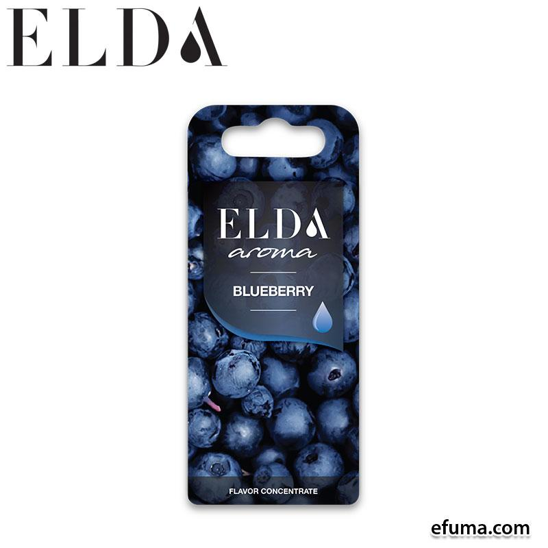 10pcs Elda Blueberry - 1ml