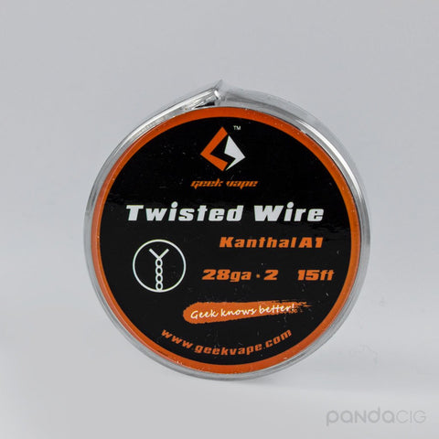 Twisted Wire Kanthal A1 - Double twisted