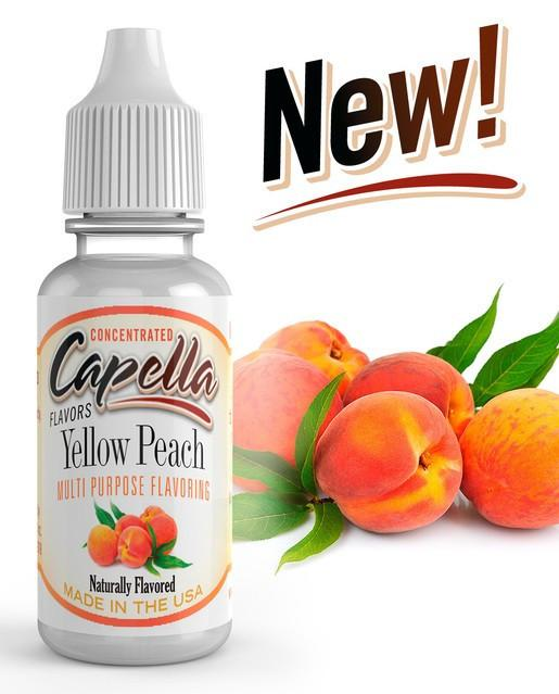 Yellow Peach Flavor