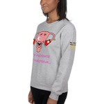 Sweat-shirt mon agresseur l'endométriose <br/> unisex