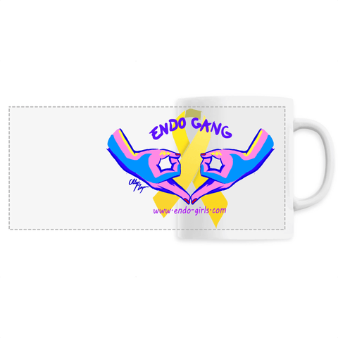 MUG CERAMIQUE ENDO GANG BI-COULEURS - Endo Girls