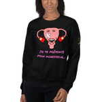 Sweat-shirt mon agresseur l'endométriose <br/> unisex - Endo Girls