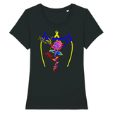 Tee-shirt endométriose et sa superbe rose - Endo Girls
