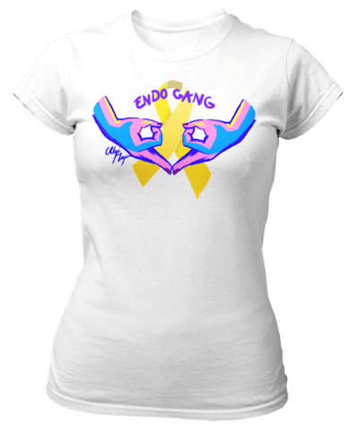 Tee-shirt endométriose Le Gang des Endo girls - Endo Girls