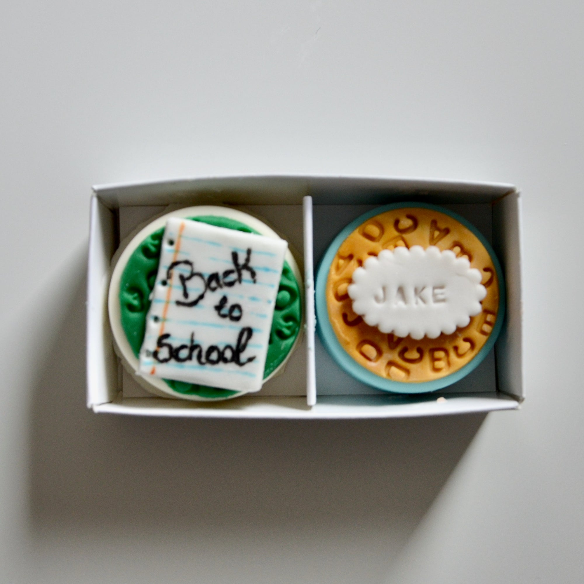 Personalised Back to School/University Duo Oreo Gift Box