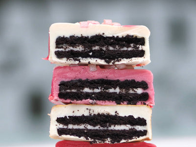 Single Unicorn Coated Oreo