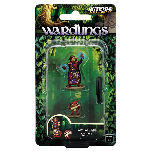 Wardlings: Boy Wizard & Imp