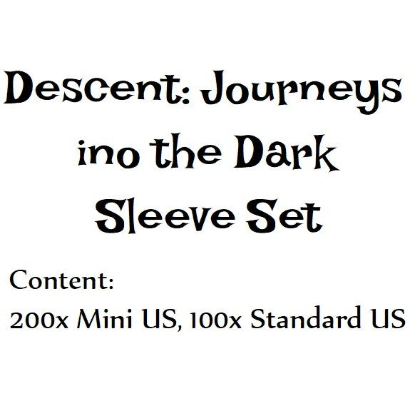 Bowman's Sleeve Bundles:  Descent - Journeys in the Dark (Second Edition)