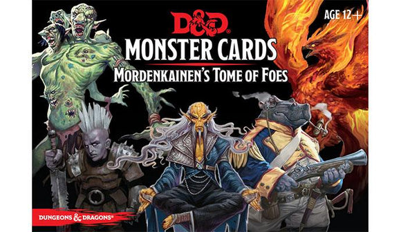 Monster Cards: Mordenkainen's Tome of Foes