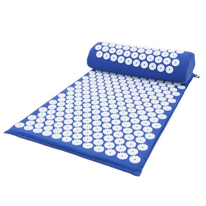 Acupressure/Acupuncture Massage Yoga Mat with Pillow