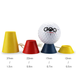 Golf Tees - 4 In 1 Different Heights