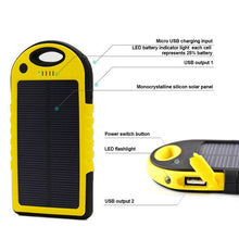 Load image into Gallery viewer, Solar Powered Device Charger - Blue